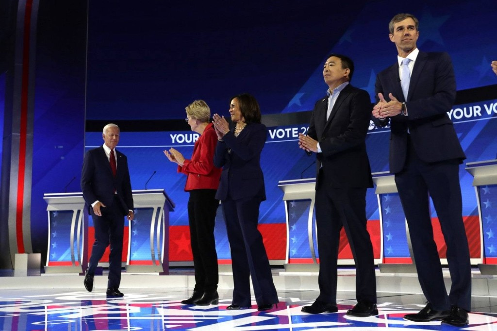 What you missed while not watching last night's Democratic debate