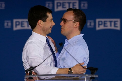Chasten Buttigieg has been a homeless community-college student and a Starbucks barista. Now, he could be 'first gentleman.'