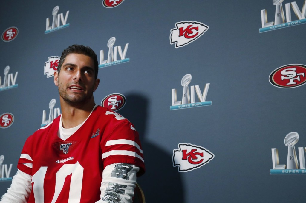Jimmy Garoppolo is seeking his third Super Bowl win. This time, he will have to work for it.