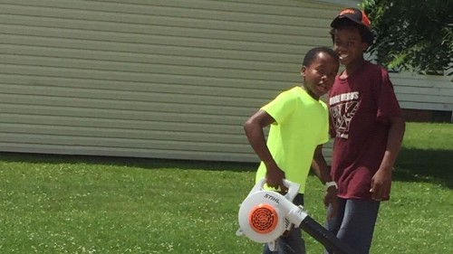 A white woman called police on a black 12-year-old — for mowing grass