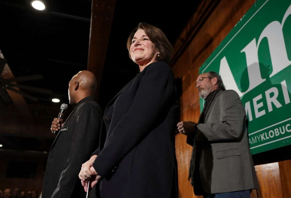Amy Klobuchar's political rise: The Democratic presidential candidate was kicked out of hospital after giving birth - The Washington Post