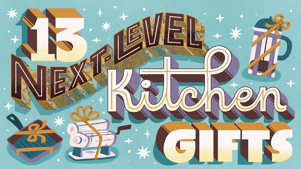 13 next-level kitchen gifts for people who love to cook