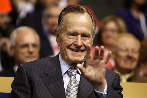 How George H.W. Bush used handwritten thank-you notes to ink his values