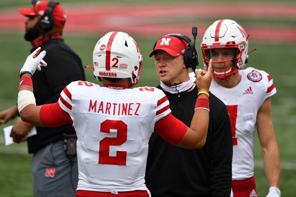 Nebraska football is airing its grievances against the Big Ten, over and over and over