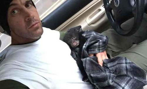 He found a sick bear cub and faced a choice — let it die or risk his life to save it.