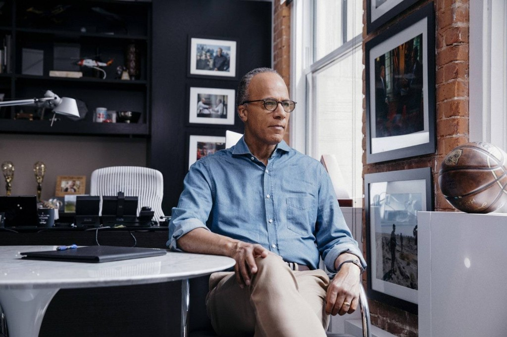Lester Holt's path from country music DJ to the most powerful perch in news