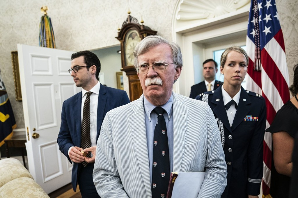 White House works to contain damage from allegations in forthcoming Bolton book