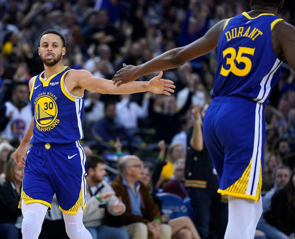 A season of drama couldn't break the Warriors, who enter the playoffs focused and frightening