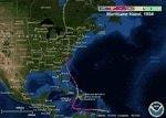 Matthew's track is eerily similar to Hurricane Hazel's in 1954