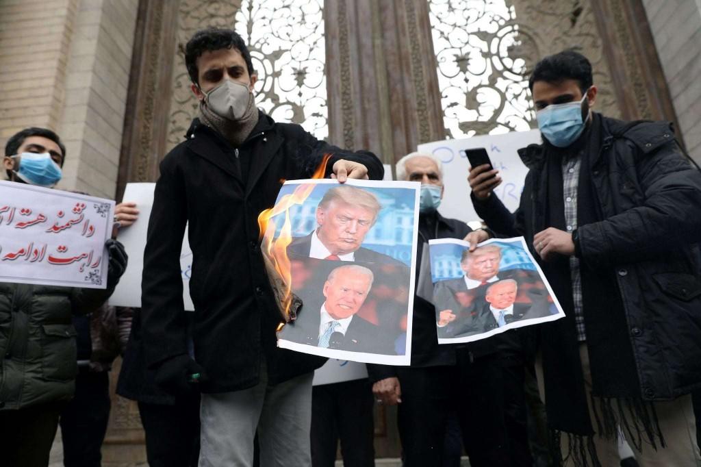 Iran's political establishment faces a serious test of will. So will Joe Biden.