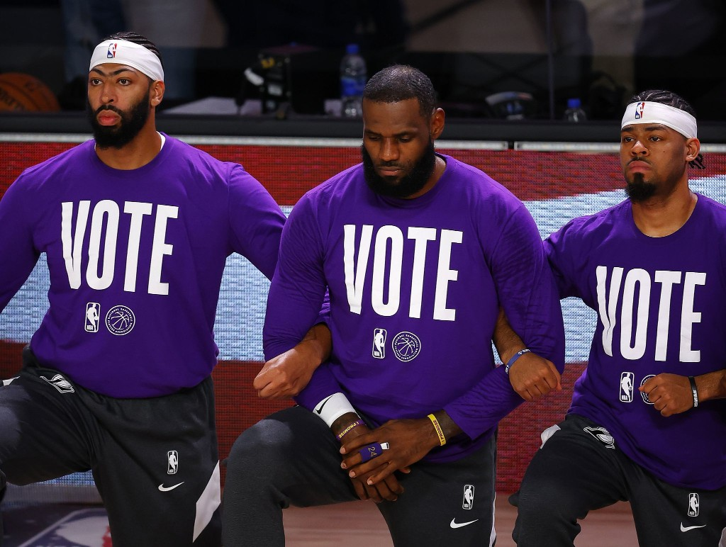 How athletes built a voter-turnout machine, for 2020 and beyond