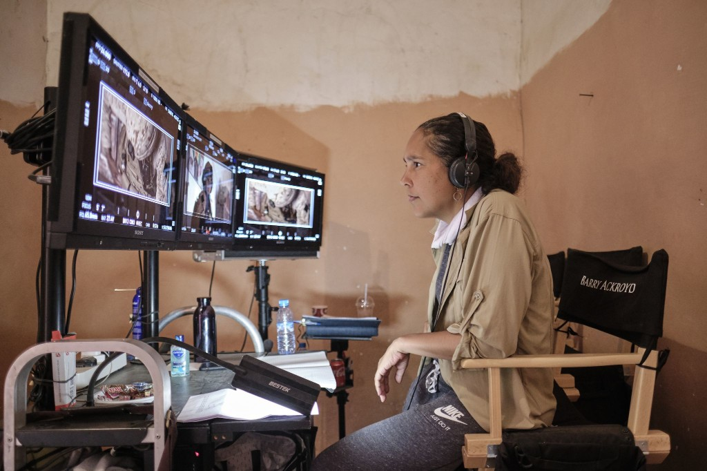 Gina Prince-Bythewood is the first black woman to direct a comic book movie. It looks like the future.