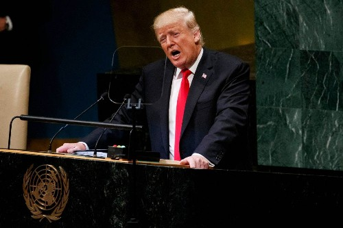Trump accused Germany of becoming 'totally dependent' on Russian energy at the U.N. The Germans just smirked.