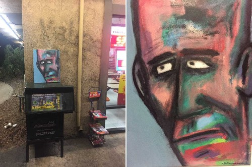 Art critics told him no one would like his paintings. Now fans go on scavenger hunts for them.