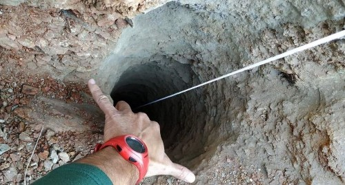 A toddler is stuck in a Spanish well. Rescuers can't reach him, and his parents no longer hear him.
