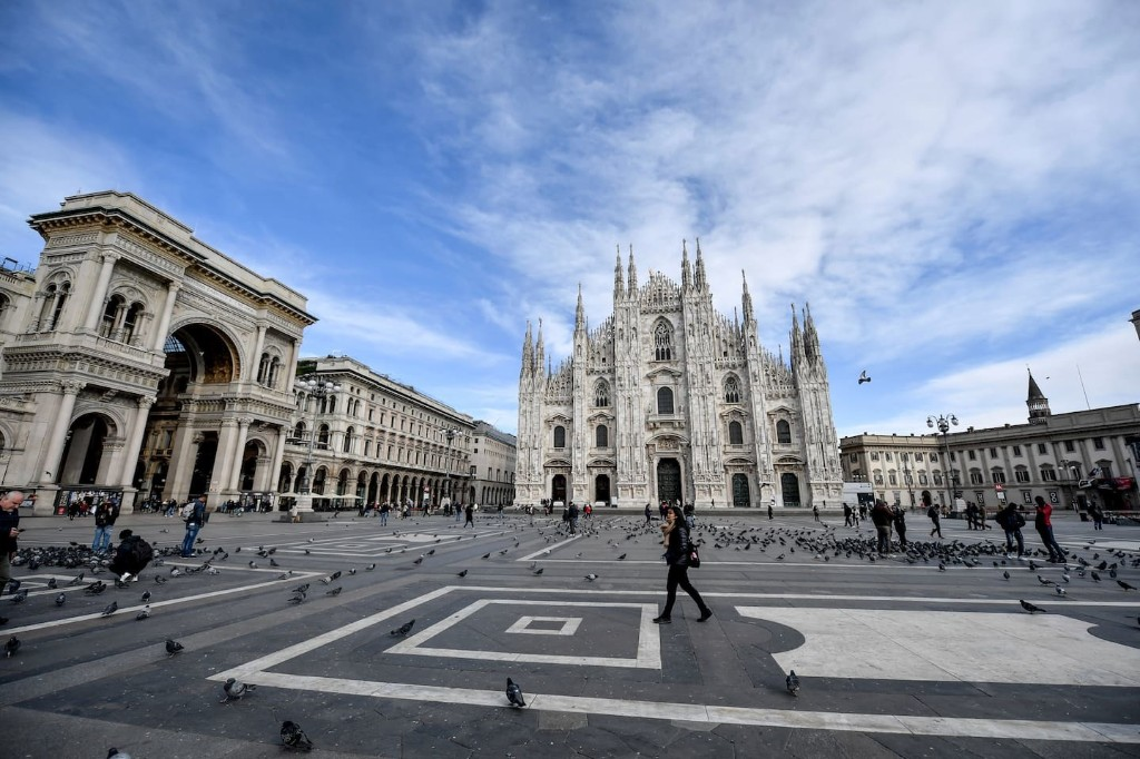 We live in Milan. Here's what parenting in the time of coronavirus is like.