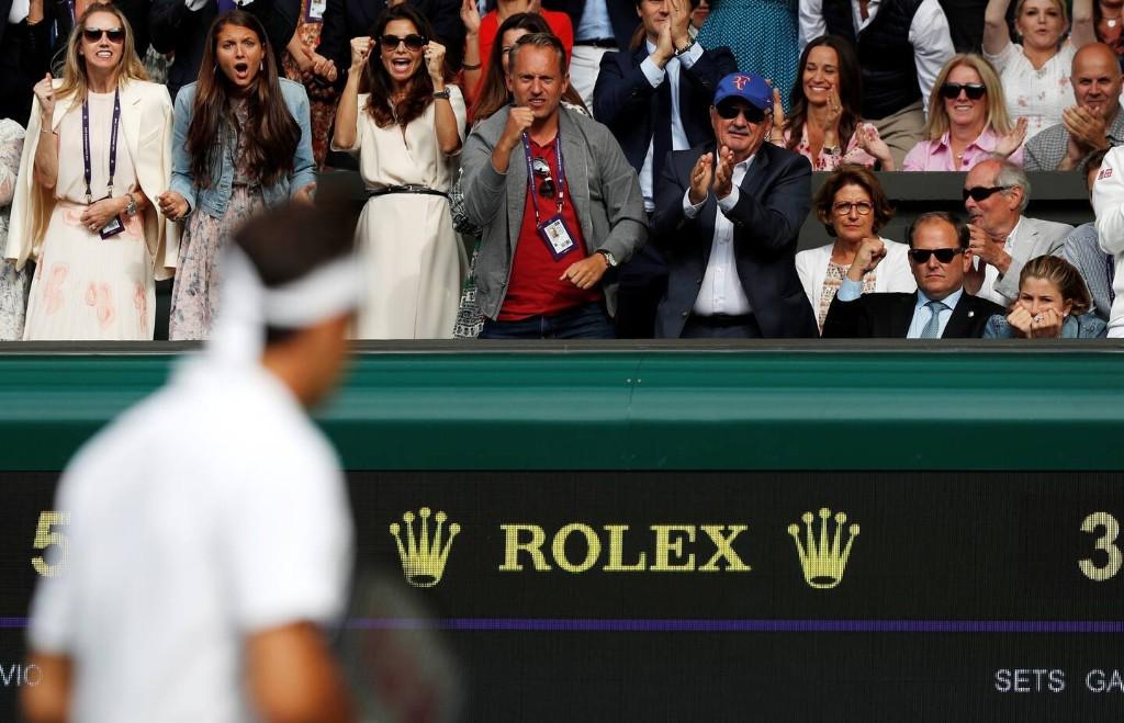 Mirka Federer is all of us watching Roger Federer battle Novak Djokovic
