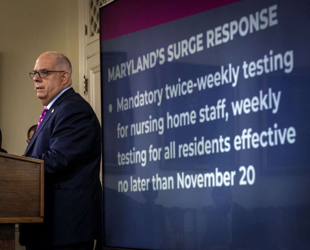 Driven by the coronavirus, Gov. Hogan succeeds in an old fight: Losing weight