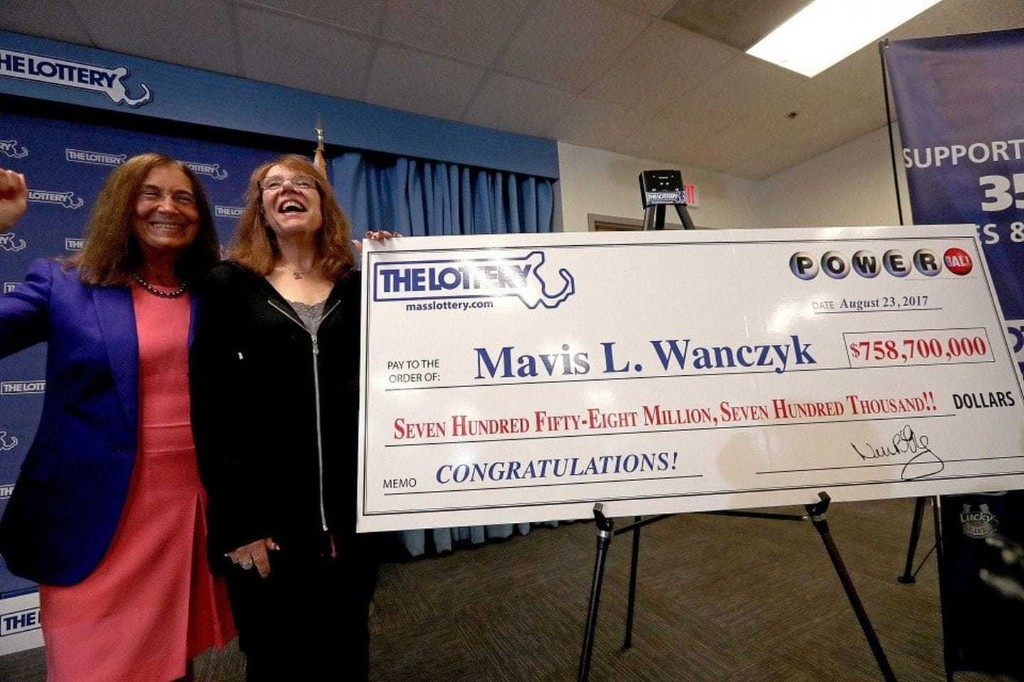 A hospital worker won the Powerball. Her prize: $758.7 million — and police outside her house.