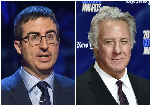 After showdown between John Oliver and Dustin Hoffman, Hollywood has no 'safe space' from hard conversations about sexual harassment