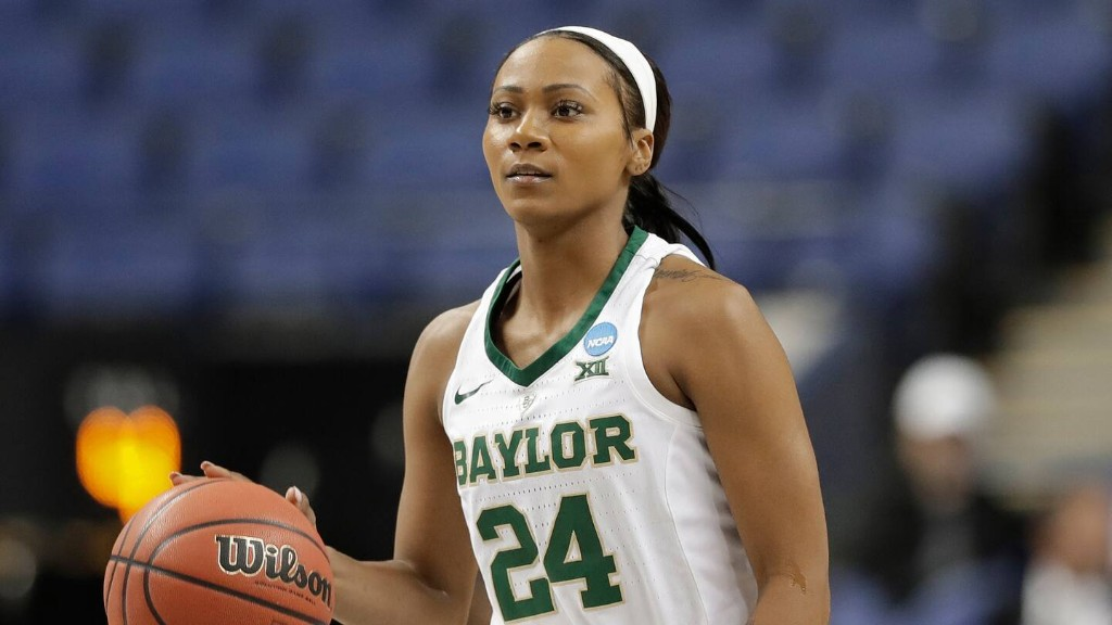 Chloe Jackson of Baylor changed schools and positions for her shot in women's Final Four