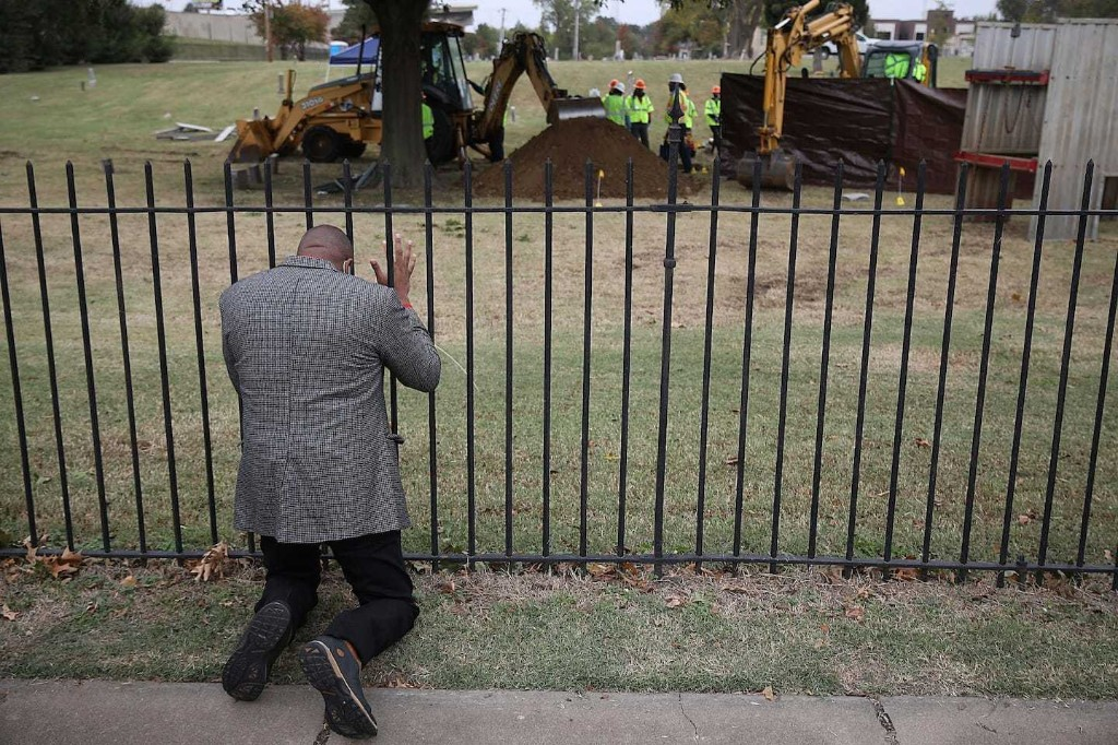 Scientists find a mass grave in Tulsa that might be from 1921 race massacre
