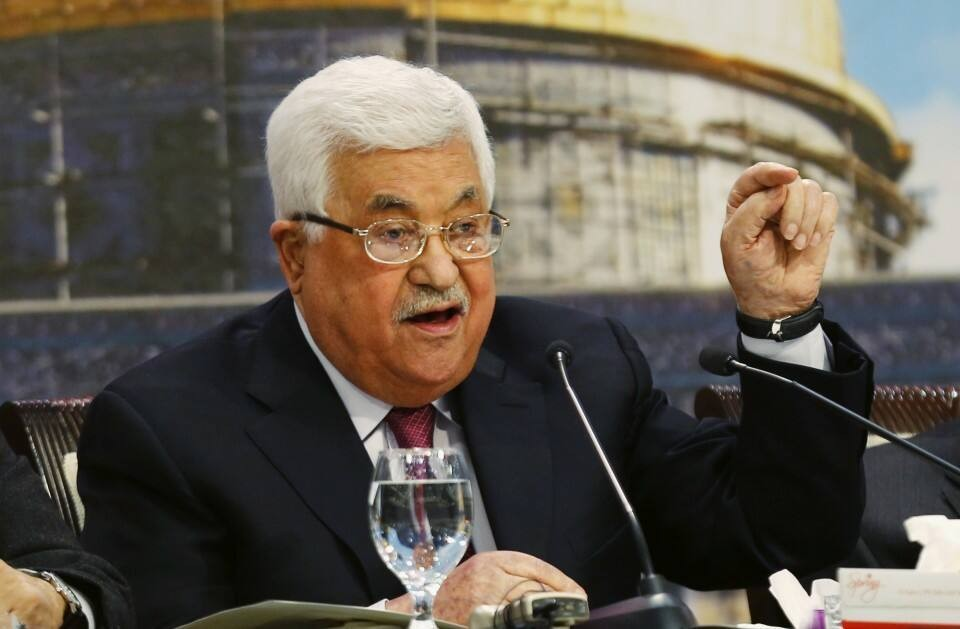 Palestinian president says Jewish behavior caused the Holocaust, sparking condemnation