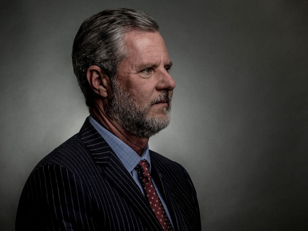 Jerry Falwell Jr. ought to read the Bible before he uses masks for political attack