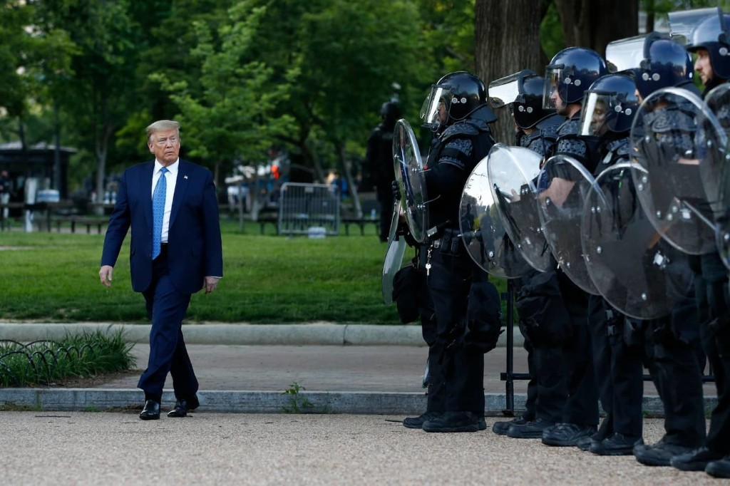 CIA veterans who monitored crackdowns abroad see troubling parallels in Trump's handling of protests