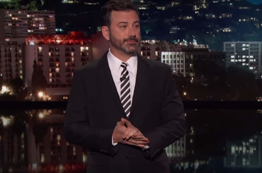 'Enough is enough': Read Jimmy Kimmel's (mostly) serious plea to Trump voters