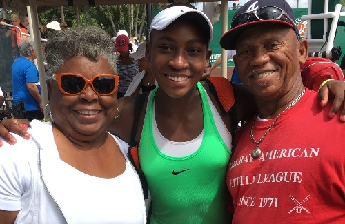 Coco Gauff's grandmother has her own remarkable story to tell