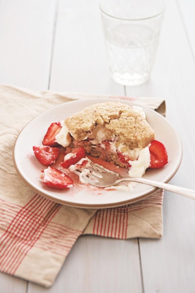 Strawberry Hazelnut Shortcakes | Williams-Sonoma Taste