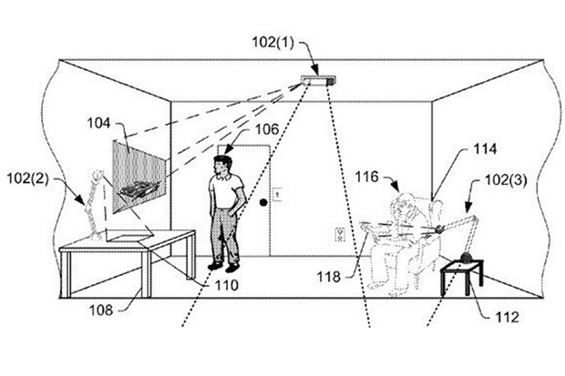 Amazon's take on augmented reality is totally headset free