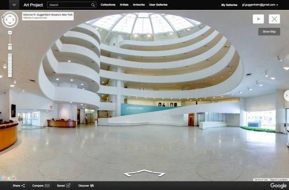グッゲンハイム美術館、Googleストリートビューで公開