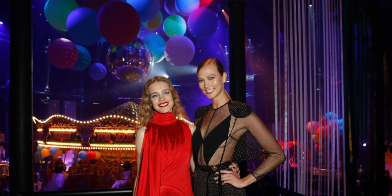 Natalia Vodianova, Karlie Kloss and More Supermodels Close London Fashion Week with a Wild Indoor Carnival