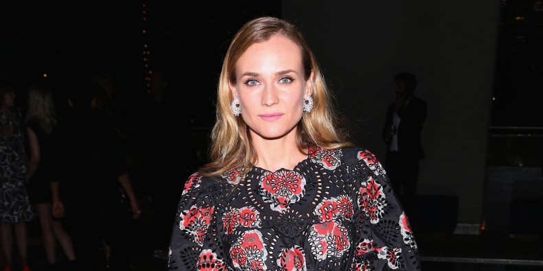 Diane Kruger Loves Geometry, Knows Her Colors