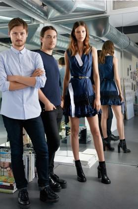women garments - Magazine cover
