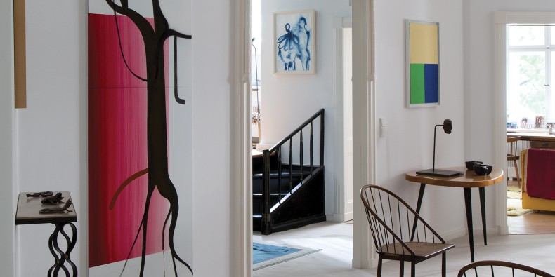 In the Homes of the World's Top Gallerists, Art Enlivens Every Corner