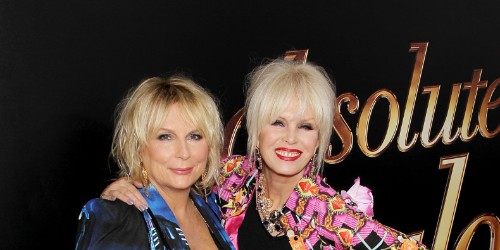 Jennifer Saunders and Joanna Lumley's Red Carpet Sister Act