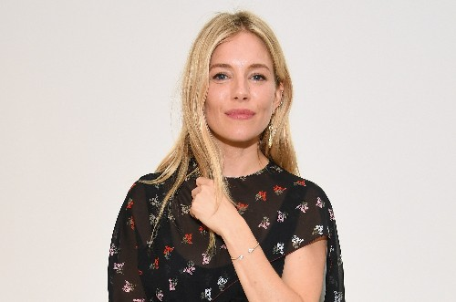 Sienna Miller, No Longer Blonde, Is Really Embracing This Cooler Weather As a Brunette