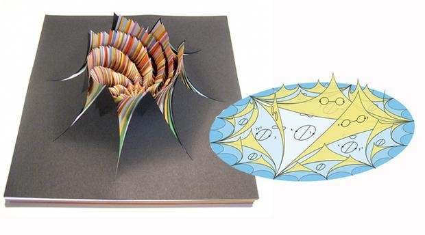 Psychedelic Paper Art or High-Level Math?