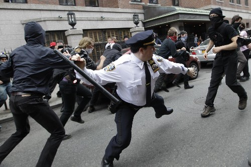 When Cops Are Trained to Use Violence as a Policing Tool