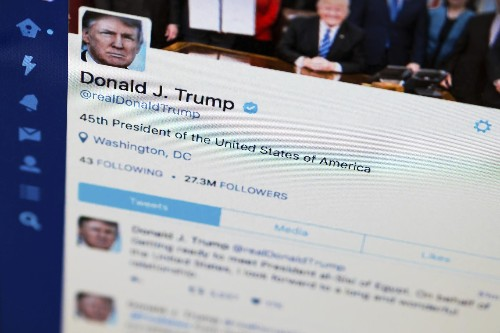 Advocates: Trump Blocking Twitter Users Violates First Amendment
