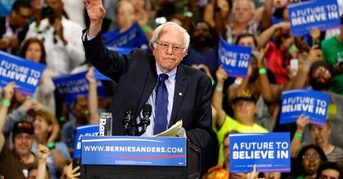 Bernie Sanders Vows Nomination Fight At Dem Convention