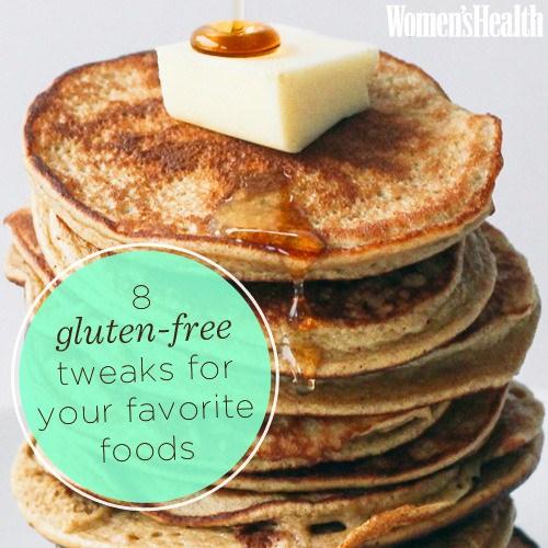 Huh, it's gluten free? - Magazine cover