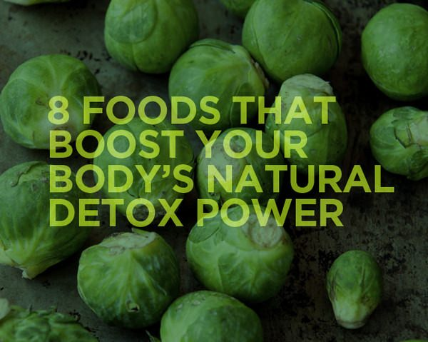 8 Foods That Boost Your Body's Natural Detox Power