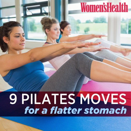 Pilates - Magazine cover