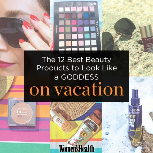 How to Look Hot On Vacation - Magazine cover