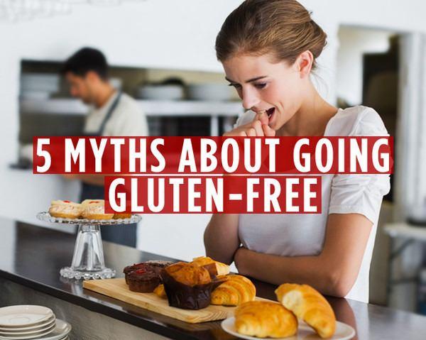 Gluten Free Tips - Magazine cover