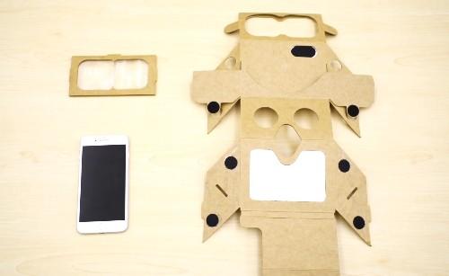 HoloKit is like Google Cardboard for augmented reality